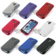 Silicone Gel TPU Rubber Cover Skin Case for Samsung Galaxy Trend Plus, S7580