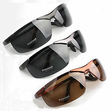 Fashion Police Polarized Sunglasses Men's Glasses +Box 3 Color Black Brown Gray