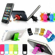 4x Universal Foldable Mini Cell Phone Stand Holder for HTC iPhone 5/4/4S Samsung
