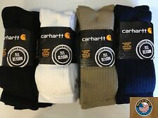 Carhartt A3208 Work Wear Cushioned Crew Sock 3-Pack - ALL COLORS