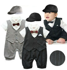 Baby Boy Suit, Wedding Christening Pageant  Formal Outfit /Newborn -24M /S Small