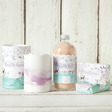 Hand in Hand: Clean Water Collection Set, Including Soap, Bath Salts & Candle