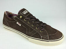 VANS. Genuine Women's TORY HIKER Classic LEATHER Shoes. BROWN. US Women 10.5.