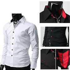 Polyester Fit Classic Trendy Luxury New Slim Dress shirts TOP Mature JS PJ HOT