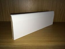 White Primed MDF Skirting Board - 14.5x94mm (4inch) C/Round - 4.2M Length (14ft)
