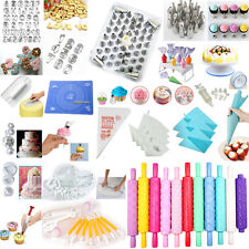 /60 Styles/ Sugarcraft Cake Cookie Cupcake Decorating Fondant Mould Cutters Tool
