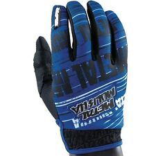 NEW Metal Mulisha BLUE Maimed Gloves motocross atv off road