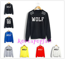 EXO XOXO WOLF GROWL MAMA FROM PLANET SWEAT HOODIE SWEATER LUHAN KRIS KPOP NEW