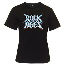 New Rock Of Ages Broadway Show Musical Women's Black T-Shirt Size S M L XL 2XL