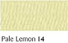 PALE LEMON   FULL ROLL - Berisfords Double Satin Ribbon - Choose from 8 widths