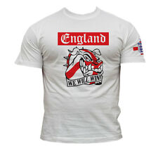 """T-SHIRT ENGLAND  """"WE WILL WIN""""  FOOTBALL SUPPORTERS !!!"""