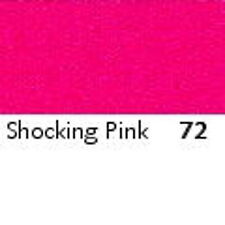 SHOCK PINK   : FULL ROLL - Berisfords Double Satin Ribbon - Choose from 8 widths