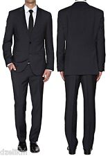 NWT Hugo Boss Black Label 2-button Trim Slim Fit Stripe Luxurious Business Suit