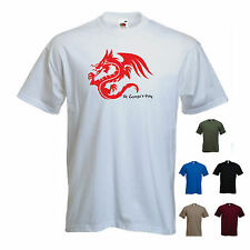 'St. George's Day - Dragon One' St Georges / Saint George Mens T-shirt Tee