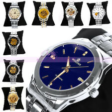 Mixed Waterproof Business Automatic Mechanical Stainless Steel Men's Wrist Watch