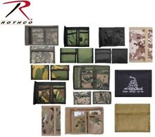 Wallets Camouflage Tri-Fold Nylon Commando Military Wallet