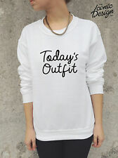 Today's Outfit Jumper Top Sweater Sweatshirt Fashion Blogger Tumblr Todays Cute