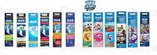 BRAUN ORAL-B ELECTRIC TOOTHBRUSH HEADS, ALL STYLES, 100% GENUINE, KIDS STAGES