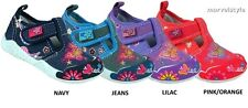 BABY GIRLS CANVAS SHOES NURSERY SLIPPERS TRAINERS UK size 4-7.5 /EU 20-25 FAB !
