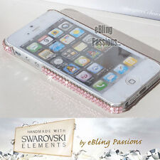 for iPhone 5 5S BLING Clear Hard Case Cover ✨w/100% SWAROVSKI ELEMENTS✨ Crystal