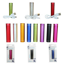 Charger For iPod GPS MP4 MP3 & More 2600mAh Power Bank External Battery Charger