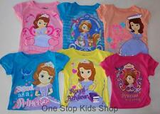 SOFIA THE FIRST Girls 2T 3T 4T 4 5 6 6X Tee SHIRT Top Disney Princess