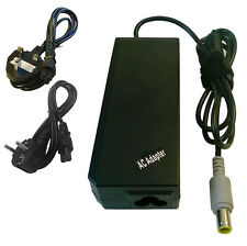 90W Adapter for Lenovo IBM Thinkpad T400 T500 Laptop Charger + CABLE UK EU
