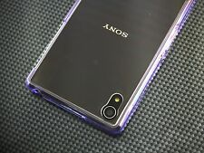 Ultra-Thin Transparent Clear Soft Gel Bumper Hard Case Cover For Sony Xperia Z2
