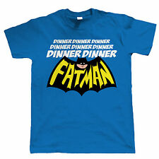 Dinner Dinner Fatman Funny Mens T Shirt - Gift for Dad all sizes inc 4XL 5XL