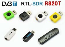 DVB-T DAB Realtek RTL2832U R820T software defined FM Radio SDR HDTV USB project