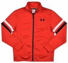 Under Armour Boys' (8-20) UA All Season Gear Full Zip Track Jacket-Red