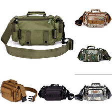 Outdoor Military Tactical Waist Pack Hiking Trekking Camping Bag Fanny Pack