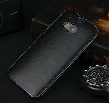 Luxury PU Leather Ultra Thin Hard Back Case Cover For The New 2014 HTC One 2 M8