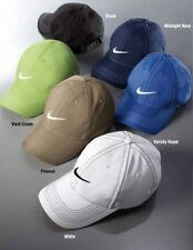 NIKE GOLF NEW Adjustable Fit DRI FIT SWOOSH FRONT BASEBALL CAP HAT 333114