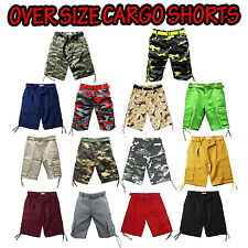 NWT MEN ACCESS (STREET/ALL PRO) OVER SIZE COLOR / CAMO CARGO SHORTS 44 UP TO 56