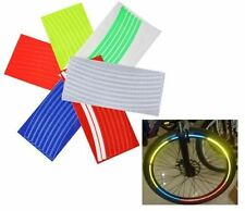 Reflective Wheel Rim Glitter Sticker Tape Decals For Motorcycle Bicycle Cycling