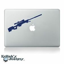 MK13 Accuracy International Sniper Rifle Gun Vinyl Decal - fits laptop car K544