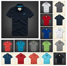 New Hollister by Abercrombie Men WIPEOUT BEACH POLO Shirt Muscle Fit Size