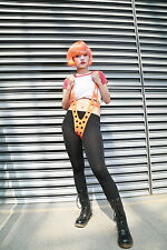 Hot Leeloo Suspender Strappy Silicon Costumes Cosplay for the 5th Fifth Element