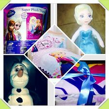 Create your own Disney Frozen Bedding- Anna Elsa & Olaf *New Styles*