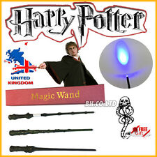 New Harry Potter Hermione Dumbledore Magic Wand Led light up in Box (freeTattoo)