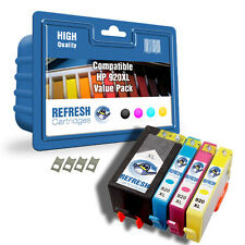 COMPATIBLE VALUEPACK HP 920XL - 4 INK CARTRIDGES UN-CHIPPED WITH CHIP EXTENDERS