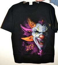 """Insane Clown Posse """"Clown""""  2-Sided GRAPHIC T-Shirt Psychopathic Records"""
