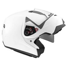 MDS (AGV) MD200 White Flip Up Front Motorcycle Helmet sizes XS-S-M-L-XL cheap