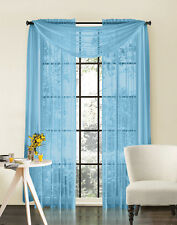"Sheer Window Treatment Curtain Panel -More than 20 colors - 84"" & 90"" inch"