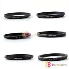 Hot Step Down Camera Lens Filter Ring Stepping Adapter Black