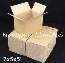 "7x5x5"" SMALL CARDBOARD GIFT / MAILING / POSTAL BOXES - ROYAL MAIL SMALL PARCEL"