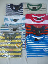 Next Boy's Striped Long Sleeve Top Various Colours from 3 mths to 7yrs New