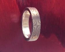 Mokume Gane Ring for Wedding, Anniversary or just for you!