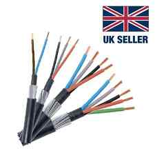 SWA CABLE SIZES RANGING FROM 1.5MM-25MM CHOICE OF 2 CORE - 4 CORE CABLE PER 10M